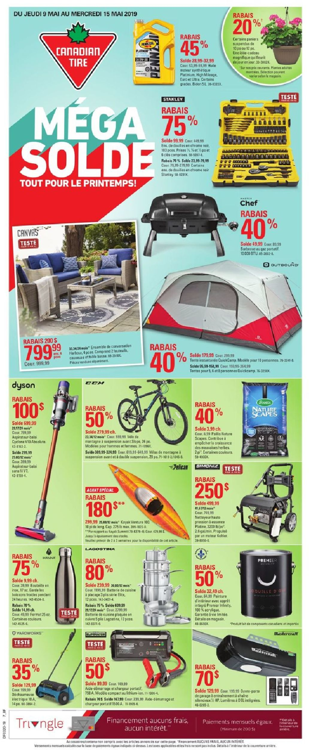 Canadian Tire Flyer - 05/09-05/15/2019