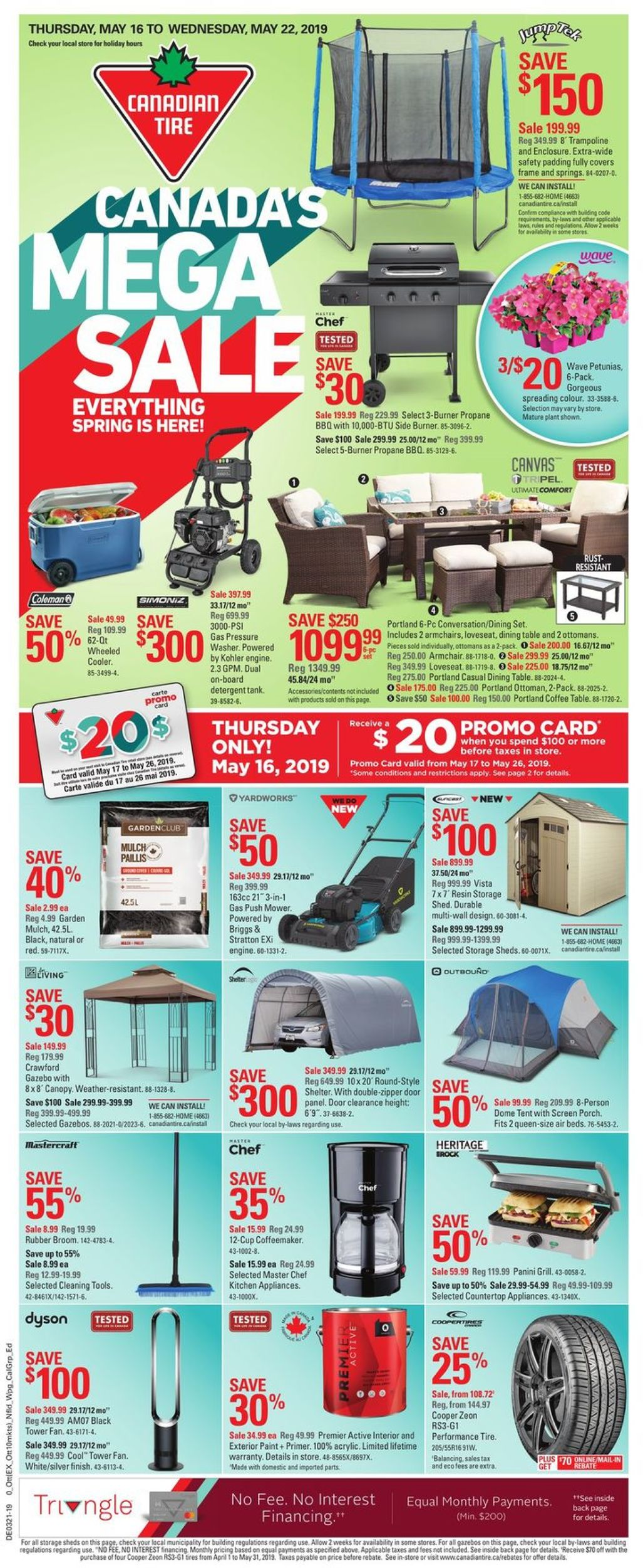 Canadian Tire Flyer - 05/16-05/22/2019