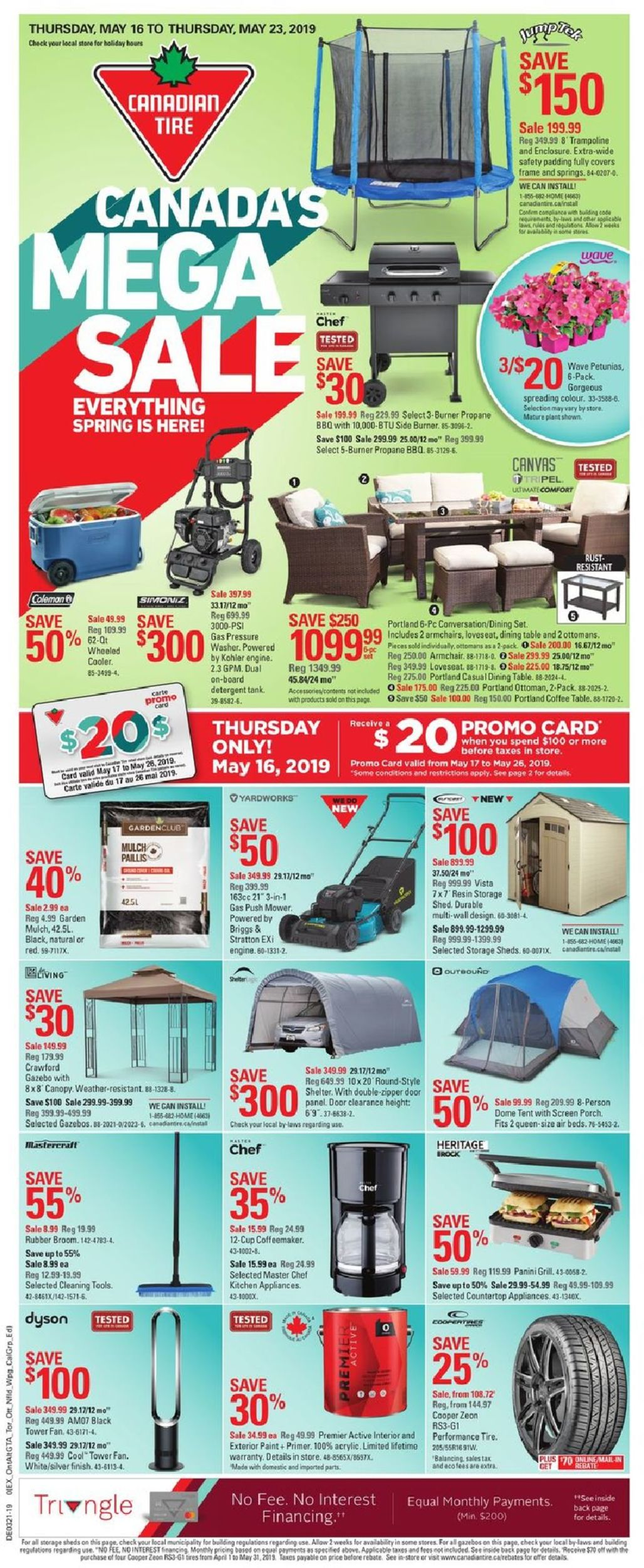Canadian Tire Flyer - 05/16-05/23/2019
