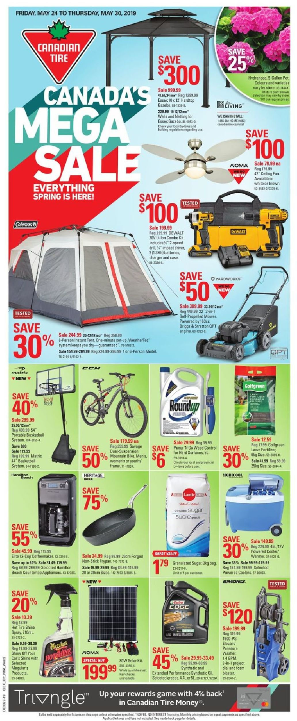 Canadian Tire Flyer - 05/24-05/30/2019