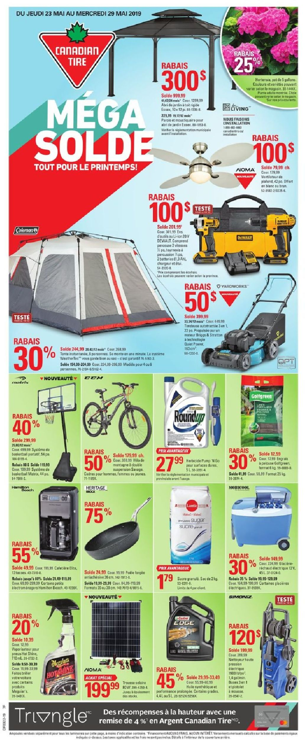 Canadian Tire Flyer - 05/23-05/29/2019