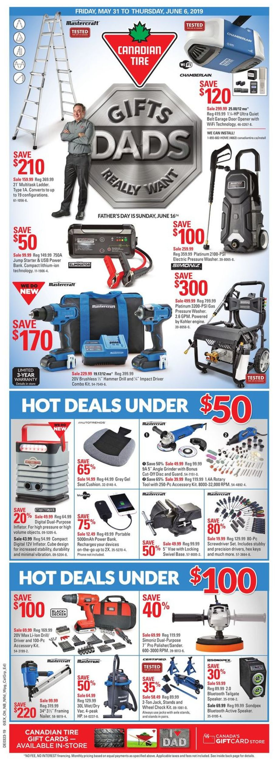 Canadian Tire Flyer - 05/31-06/06/2019