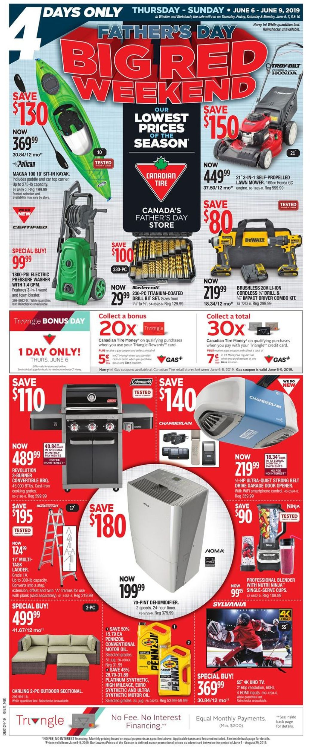 Canadian Tire Flyer - 06/06-06/09/2019