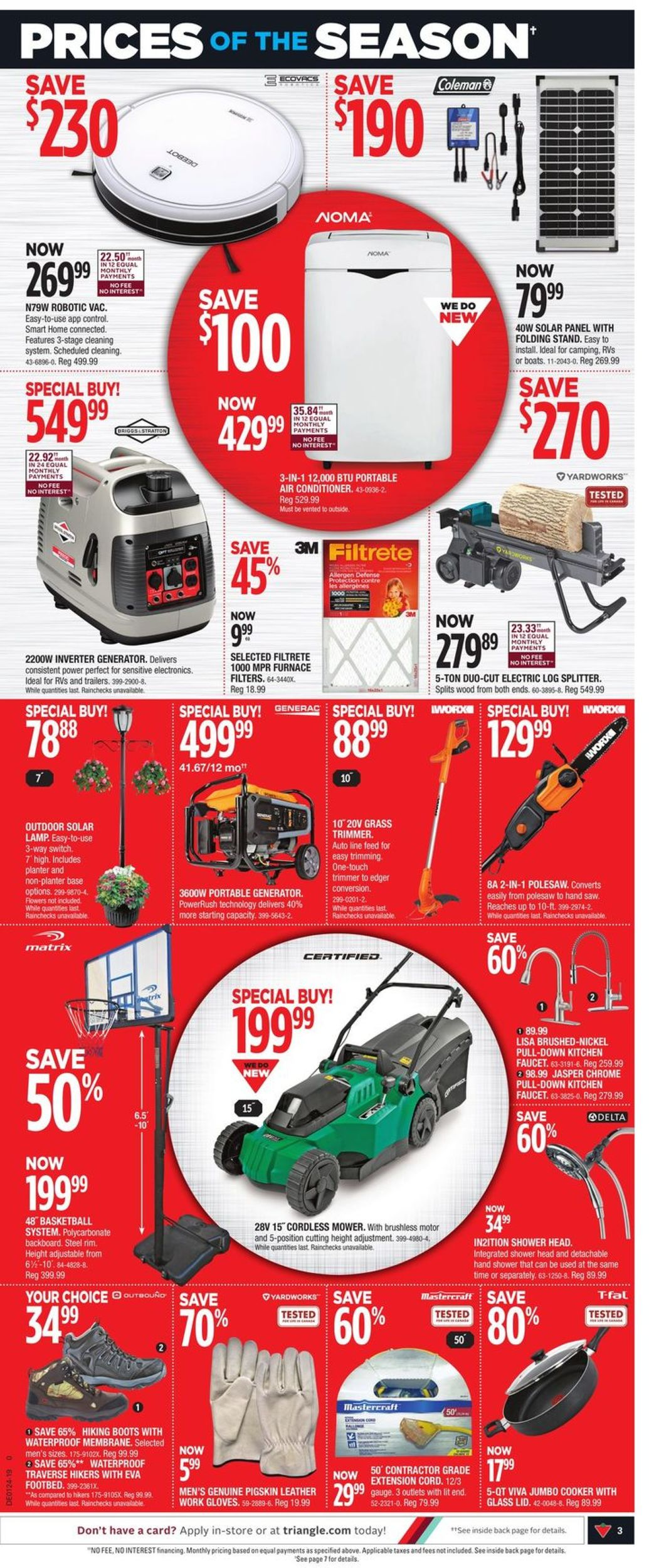 Canadian Tire Flyer - 06/06-06/09/2019 (Page 3)