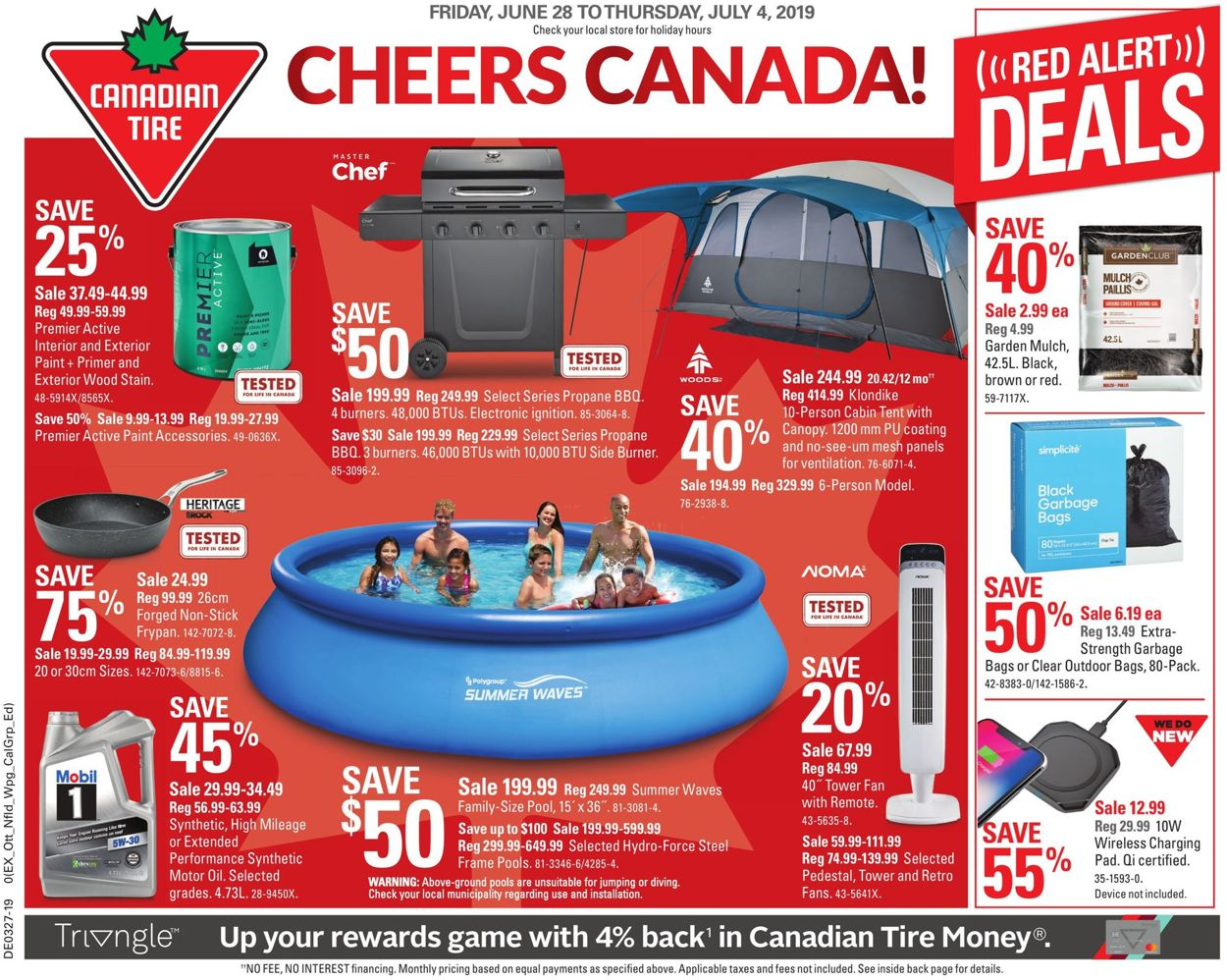 Canadian Tire Flyer - 06/28-07/04/2019