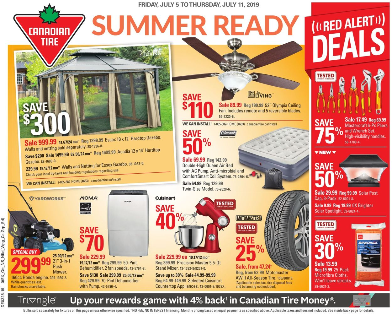 Canadian Tire Flyer - 07/05-07/11/2019