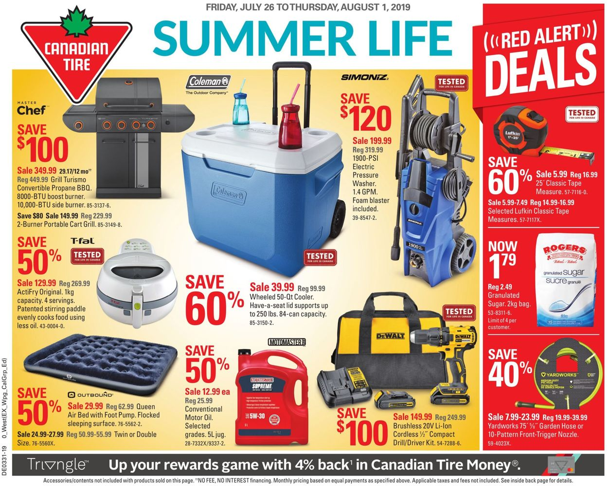 Canadian Tire Flyer - 07/26-08/01/2019