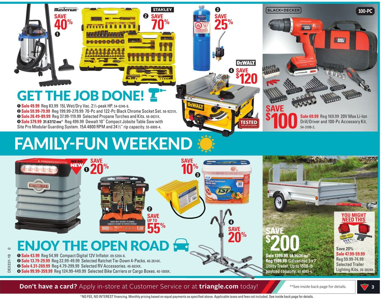 Canadian Tire Flyer - 07/26-08/01/2019 (Page 3)