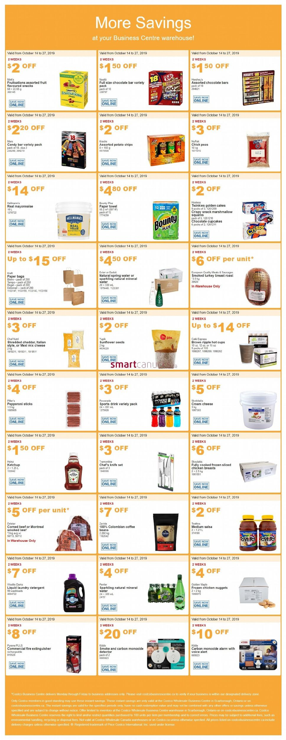 Costco Flyer - 10/14-10/27/2019
