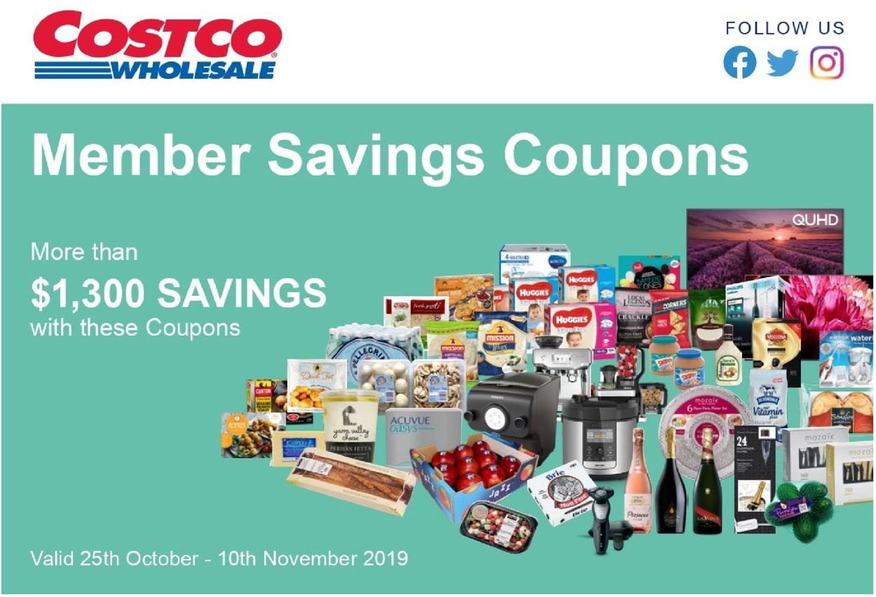 Costco Flyer - 10/25-11/10/2019