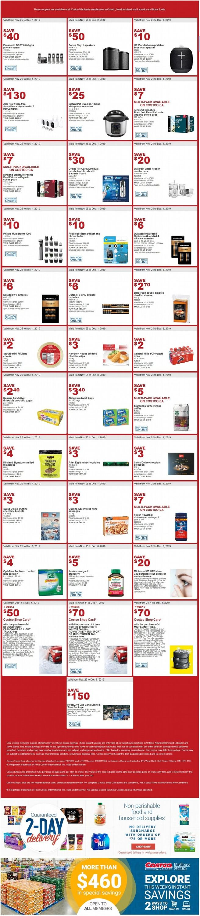 Costco Flyer - 11/26-12/08/2019