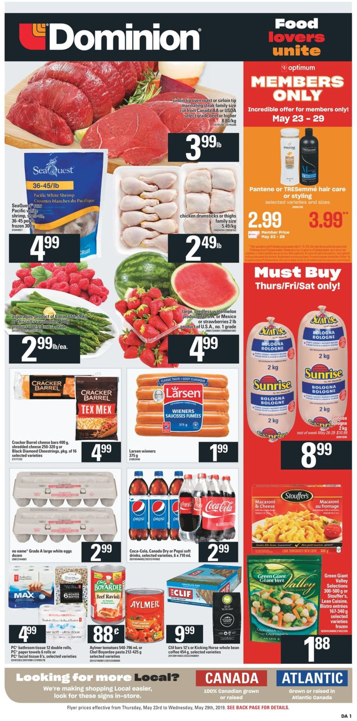 Dominion Flyer - 05/23-05/29/2019