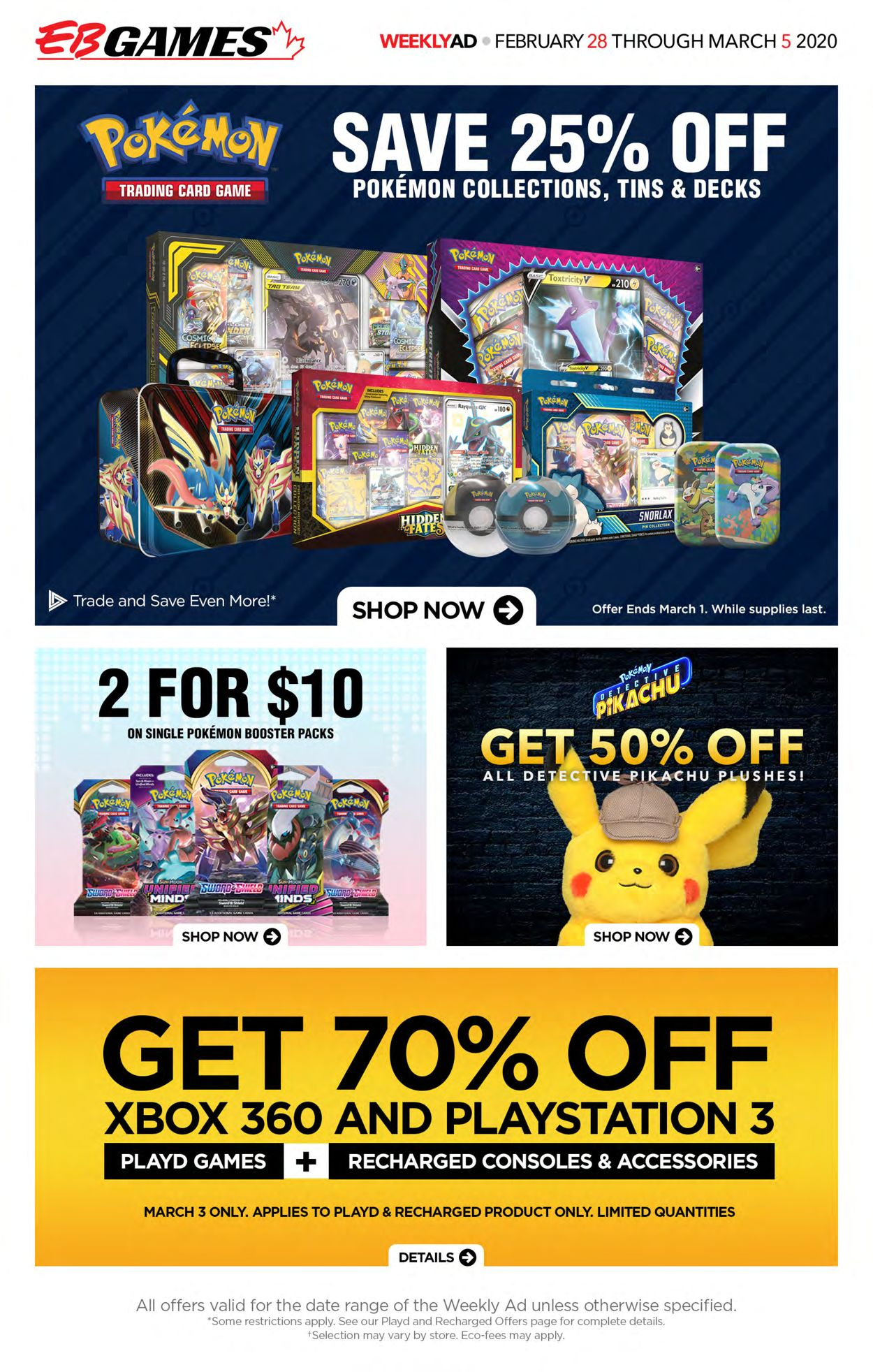 EB Games Flyer - 02/28-03/05/2020