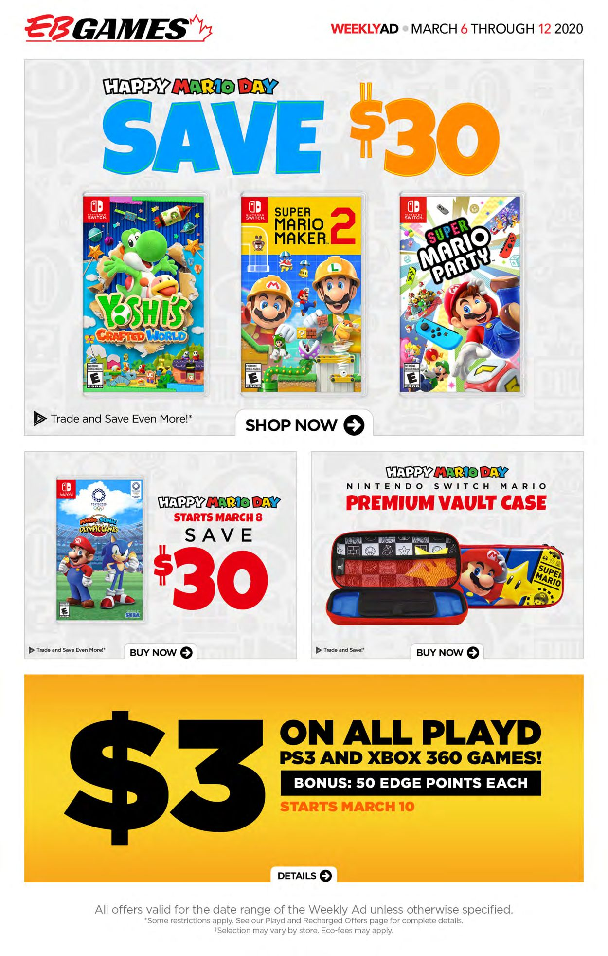 EB Games Flyer - 03/06-03/12/2020