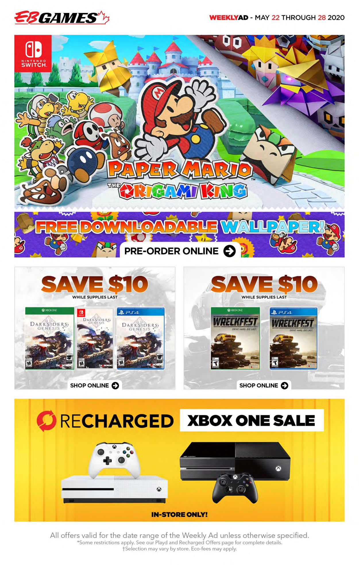 EB Games Flyer - 05/22-05/28/2020
