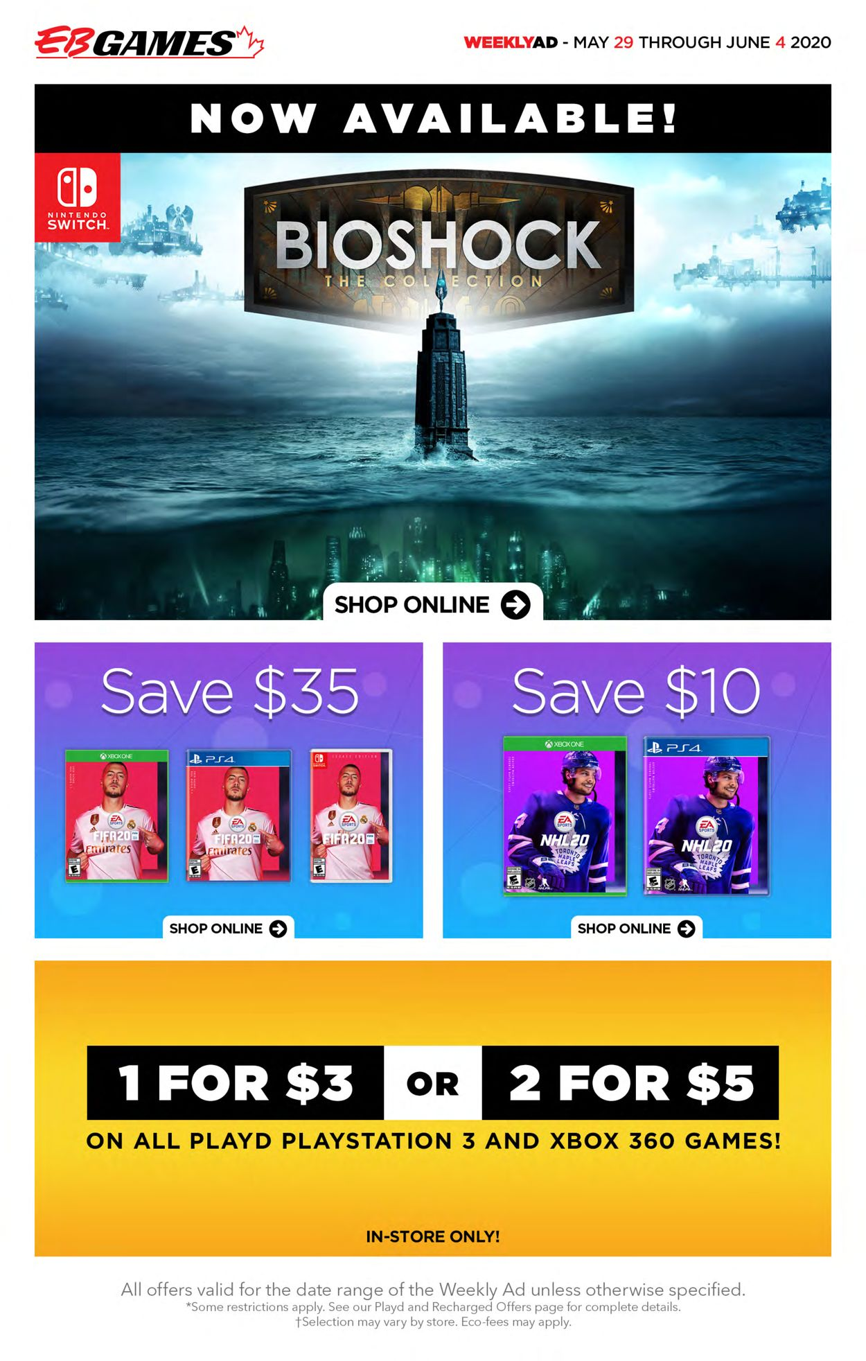 EB Games Flyer - 05/29-06/04/2020