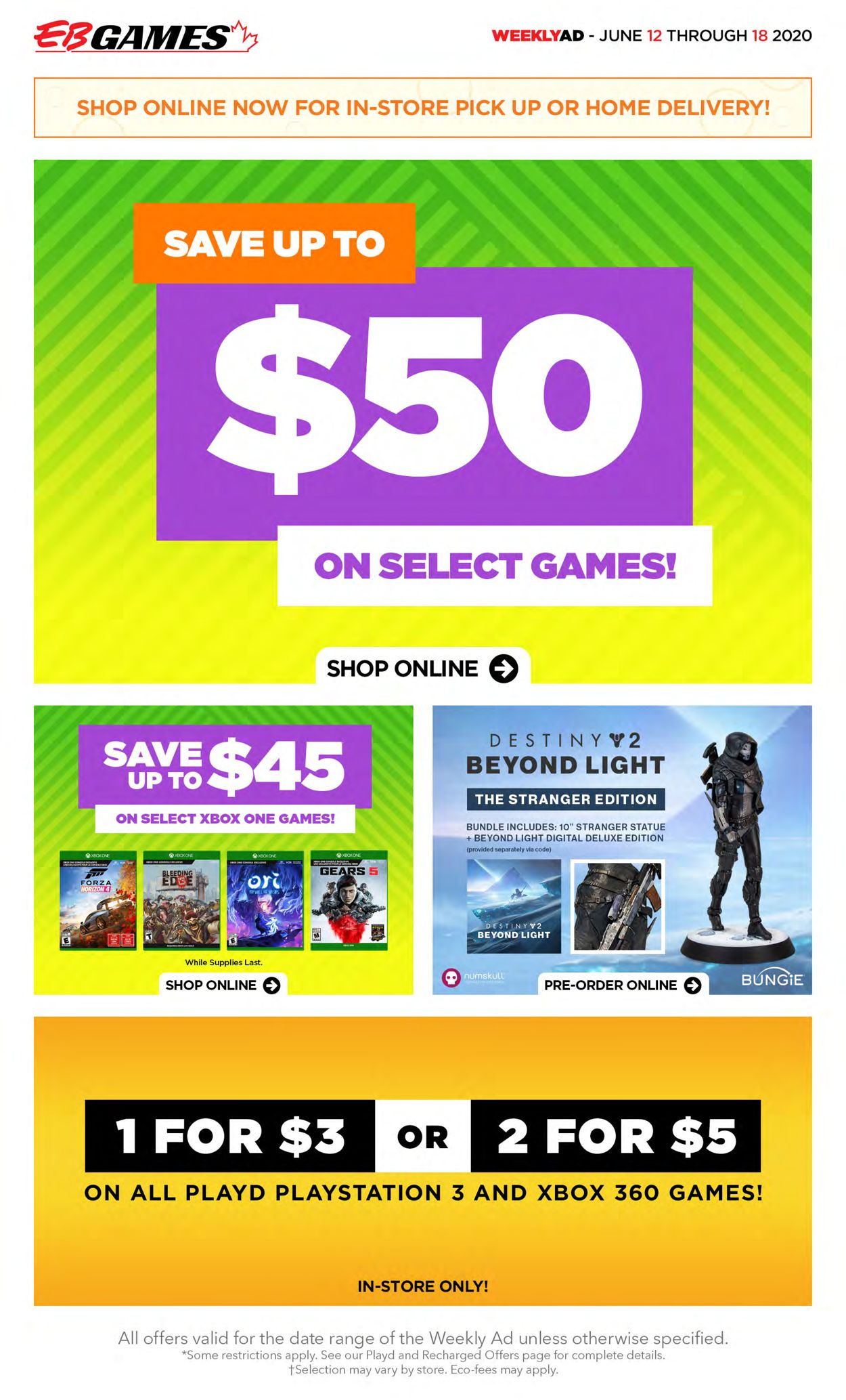 EB Games Flyer - 06/12-06/18/2020