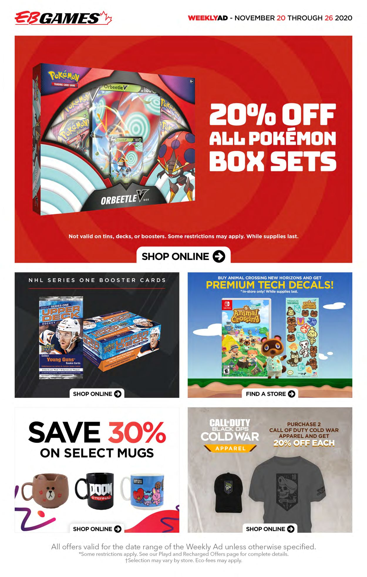 EB Games - Black Friday Ad 2020 Flyer - 11/20-11/26/2020 (Page 2)