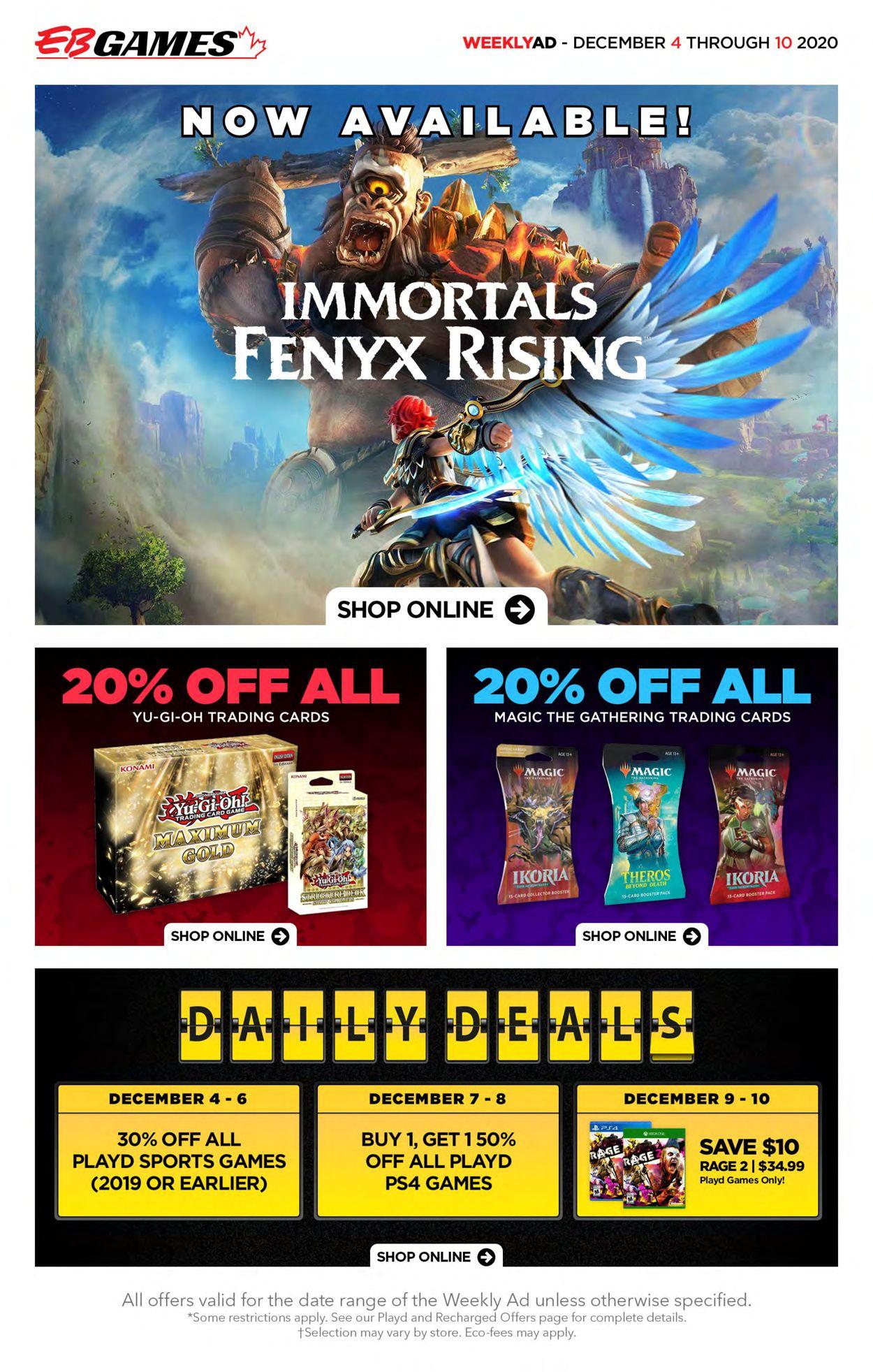 EB Games Flyer - 12/04-12/10/2020