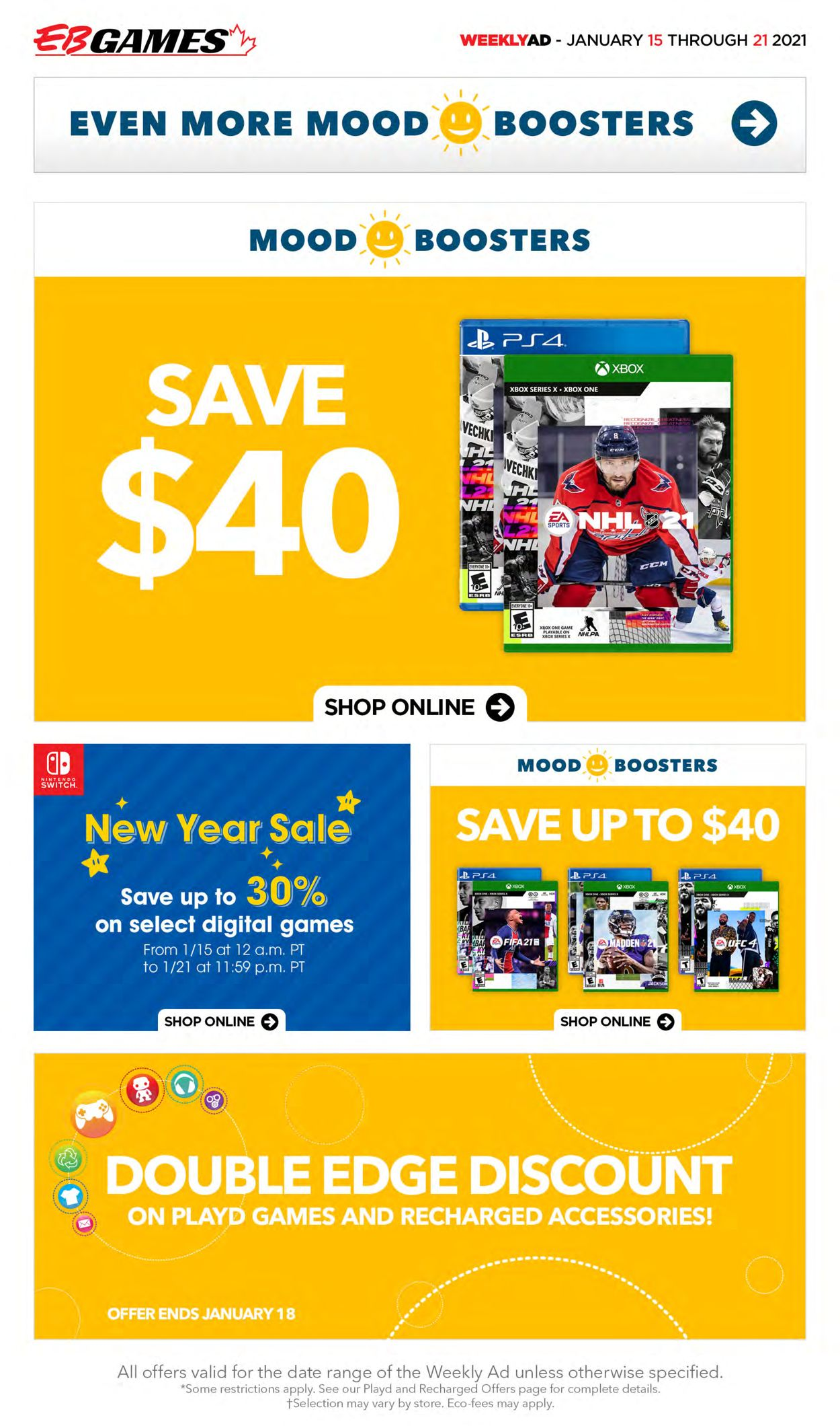 EB Games Flyer - 01/15-01/21/2021