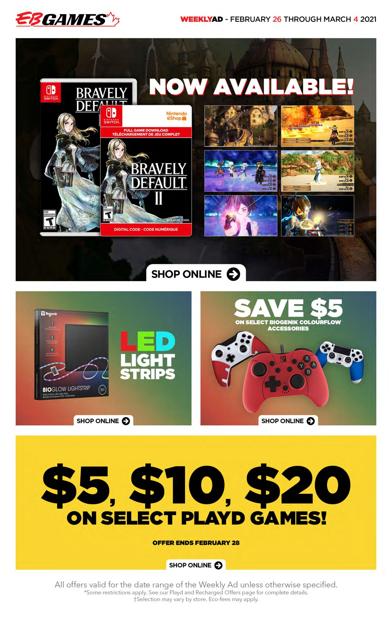 EB Games Flyer - 02/26-03/04/2021