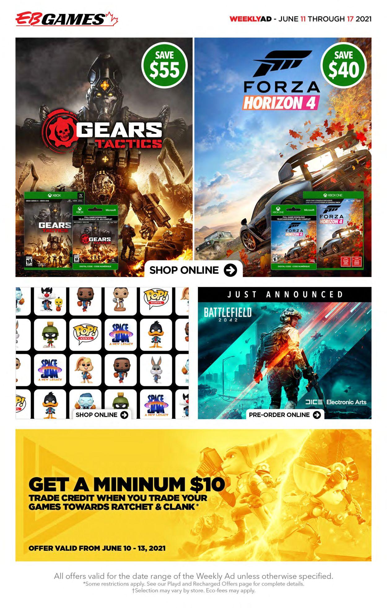 EB Games Flyer - 06/11-06/17/2021