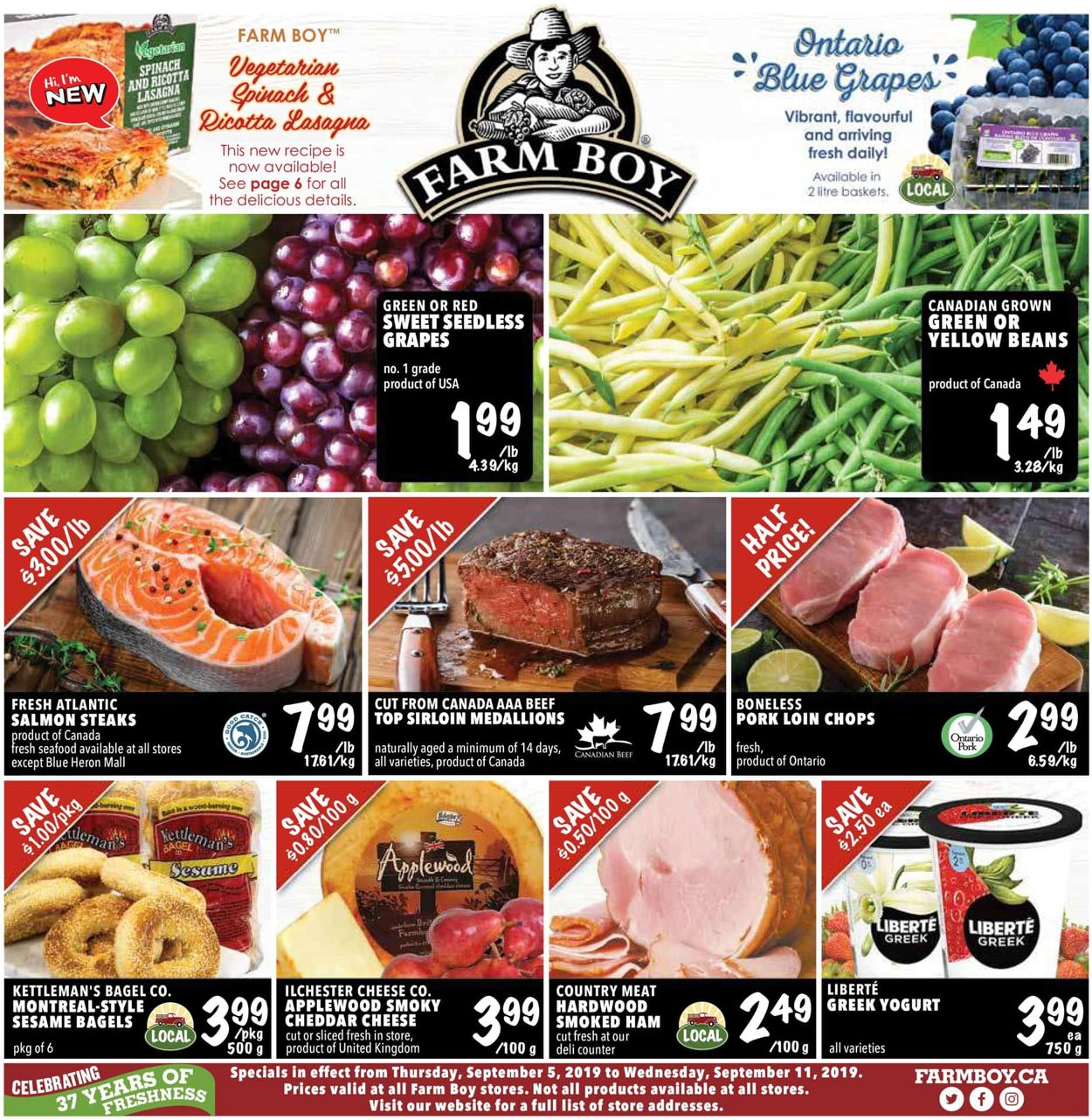 Farm Boy Flyer - 09/05-09/11/2019