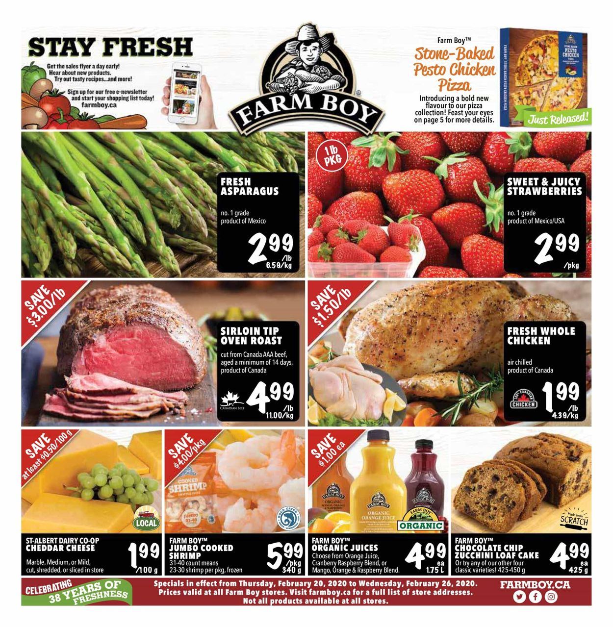 Farm Boy Flyer - 02/20-02/26/2020