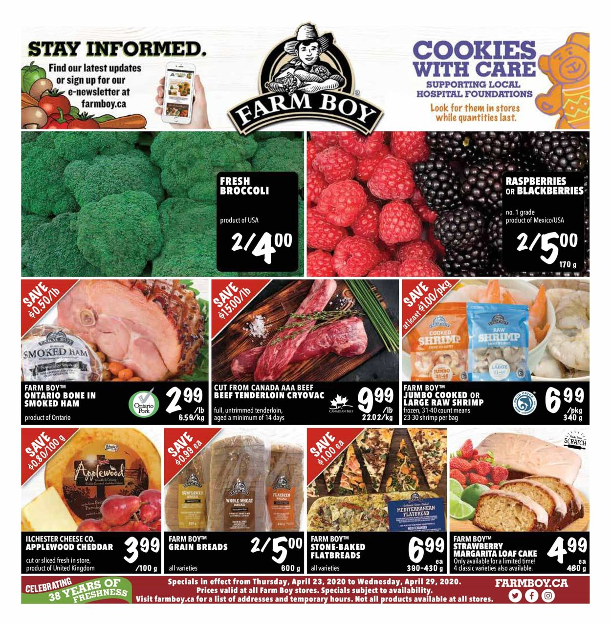 Farm Boy Flyer - 04/23-04/29/2020
