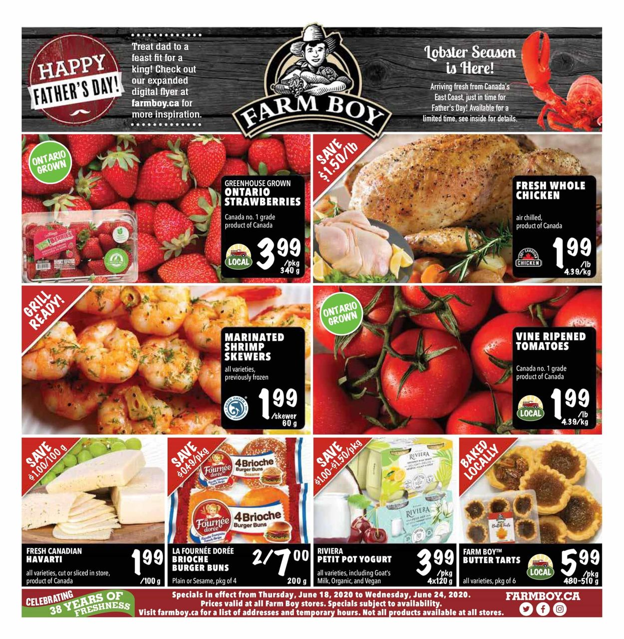 Farm Boy Flyer - 06/18-06/24/2020
