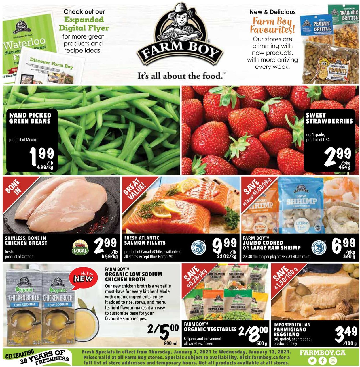 Farm Boy Flyer - 01/07-01/13/2021