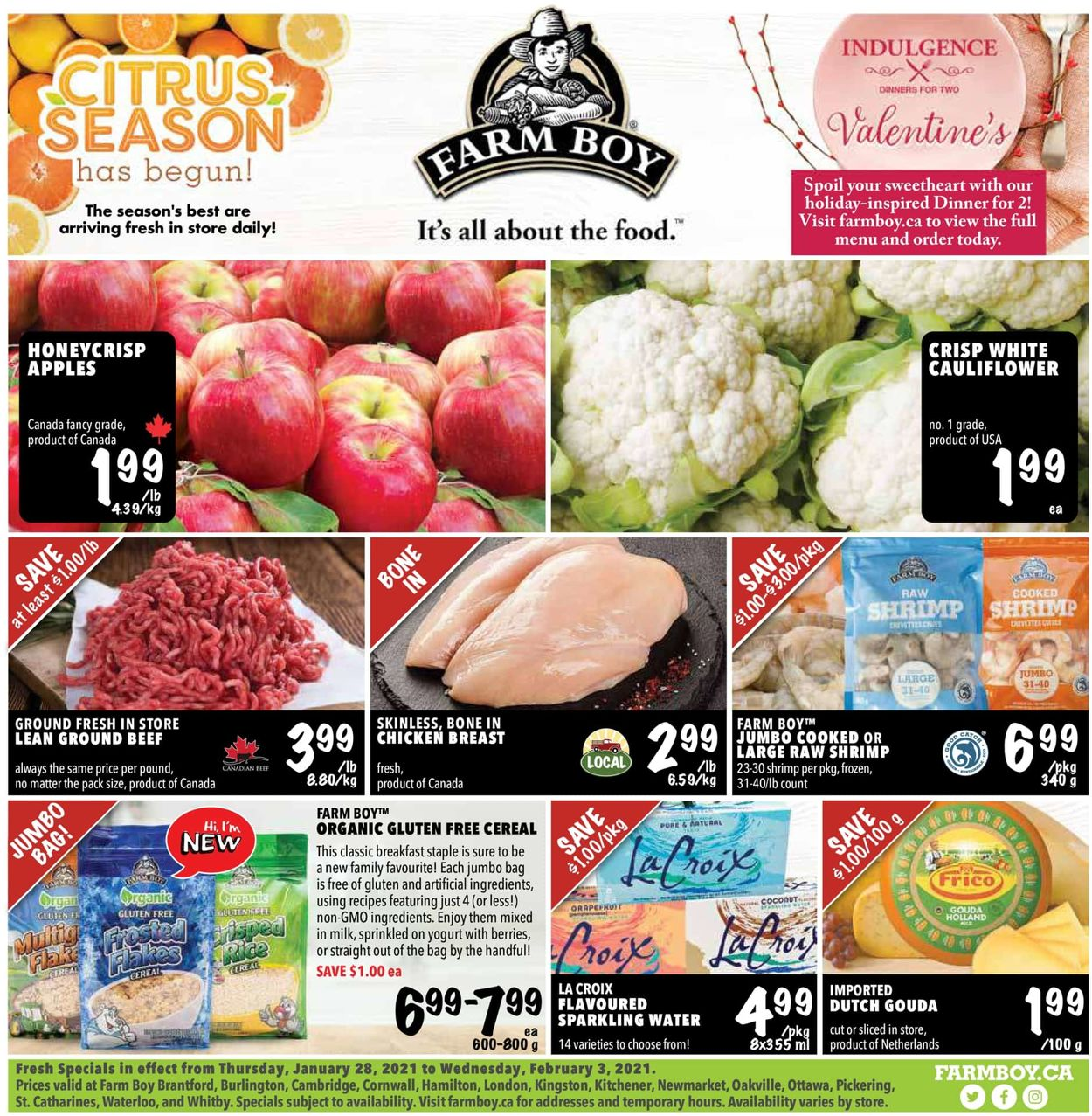Farm Boy Flyer - 01/28-02/03/2021