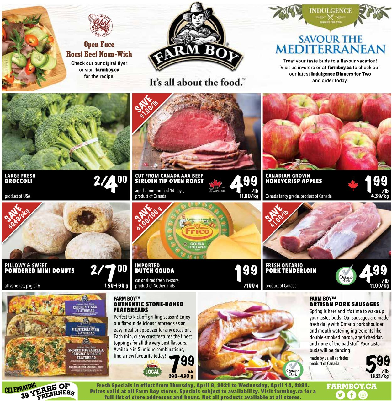 Farm Boy Flyer - 04/08-04/14/2021