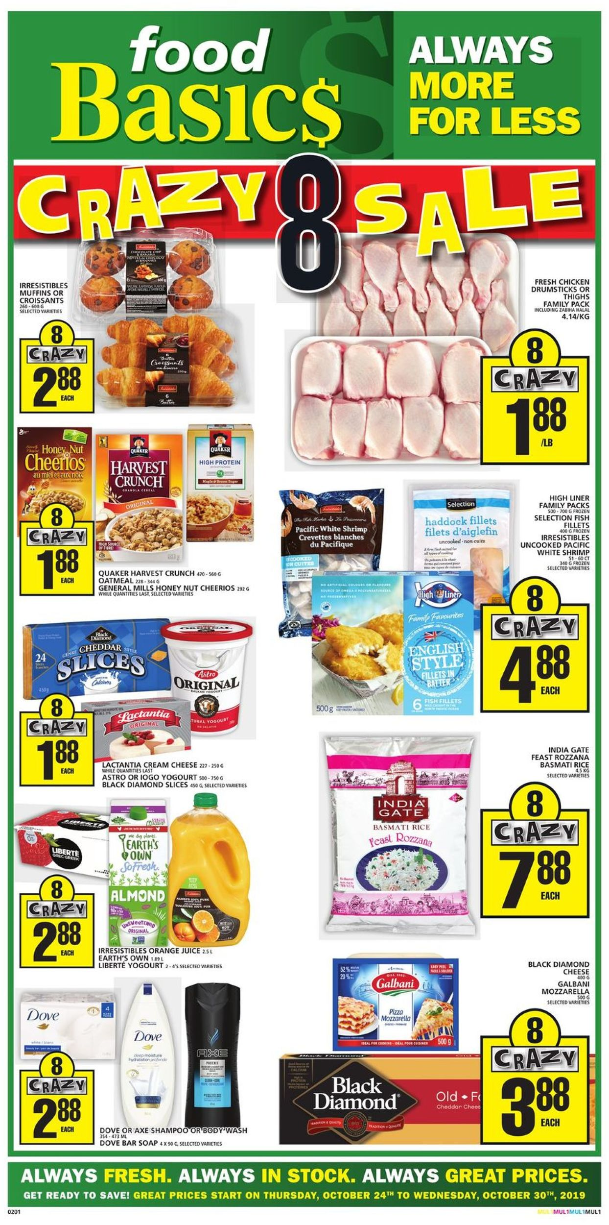 Food Basics Flyer - 10/24-10/30/2019