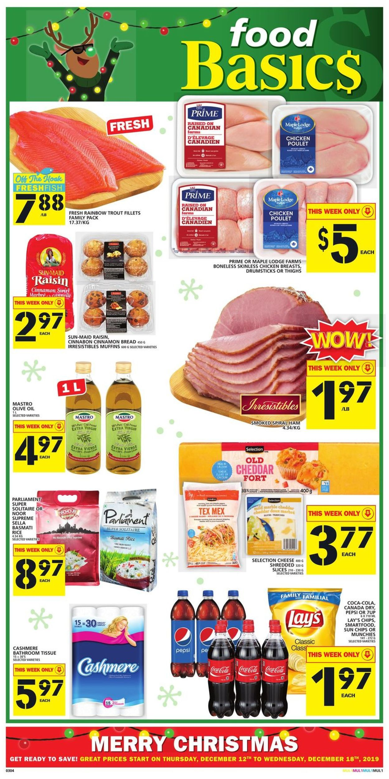 Food Basics - CHRISTMAS 2019 FLYER