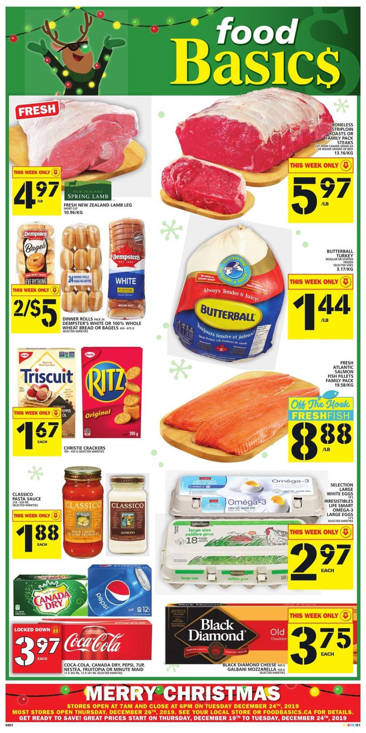 Food Basics Christmas Flyer 2019