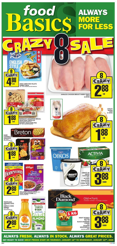 Food Basics Flyer - 01/16-01/22/2020