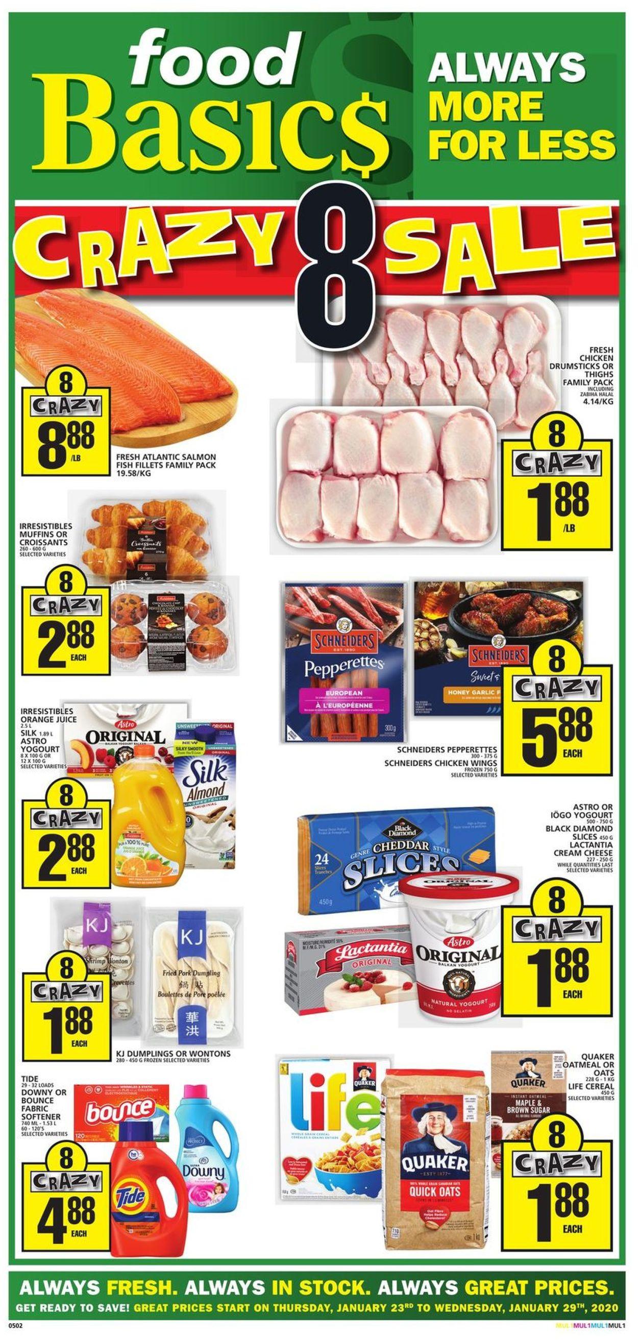 Food Basics Flyer - 01/23-01/29/2020
