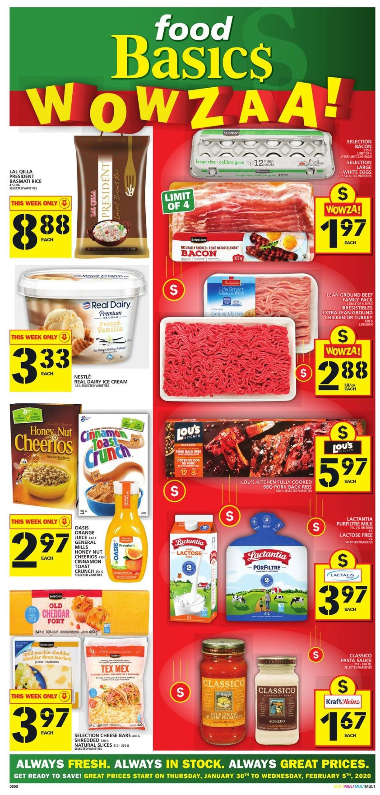 Food Basics Flyer - 01/30-02/05/2020