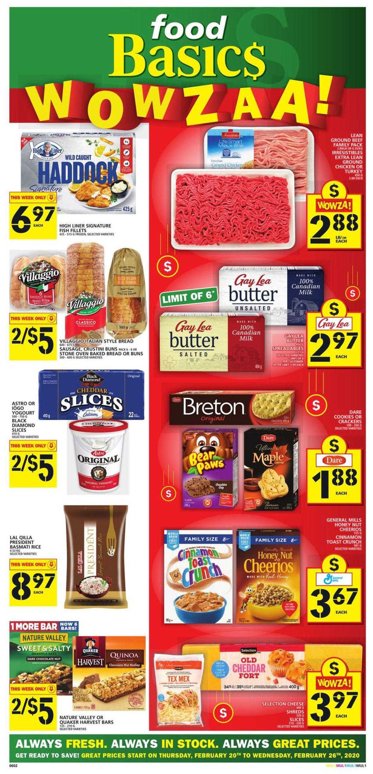 Food Basics Flyer - 02/20-02/26/2020