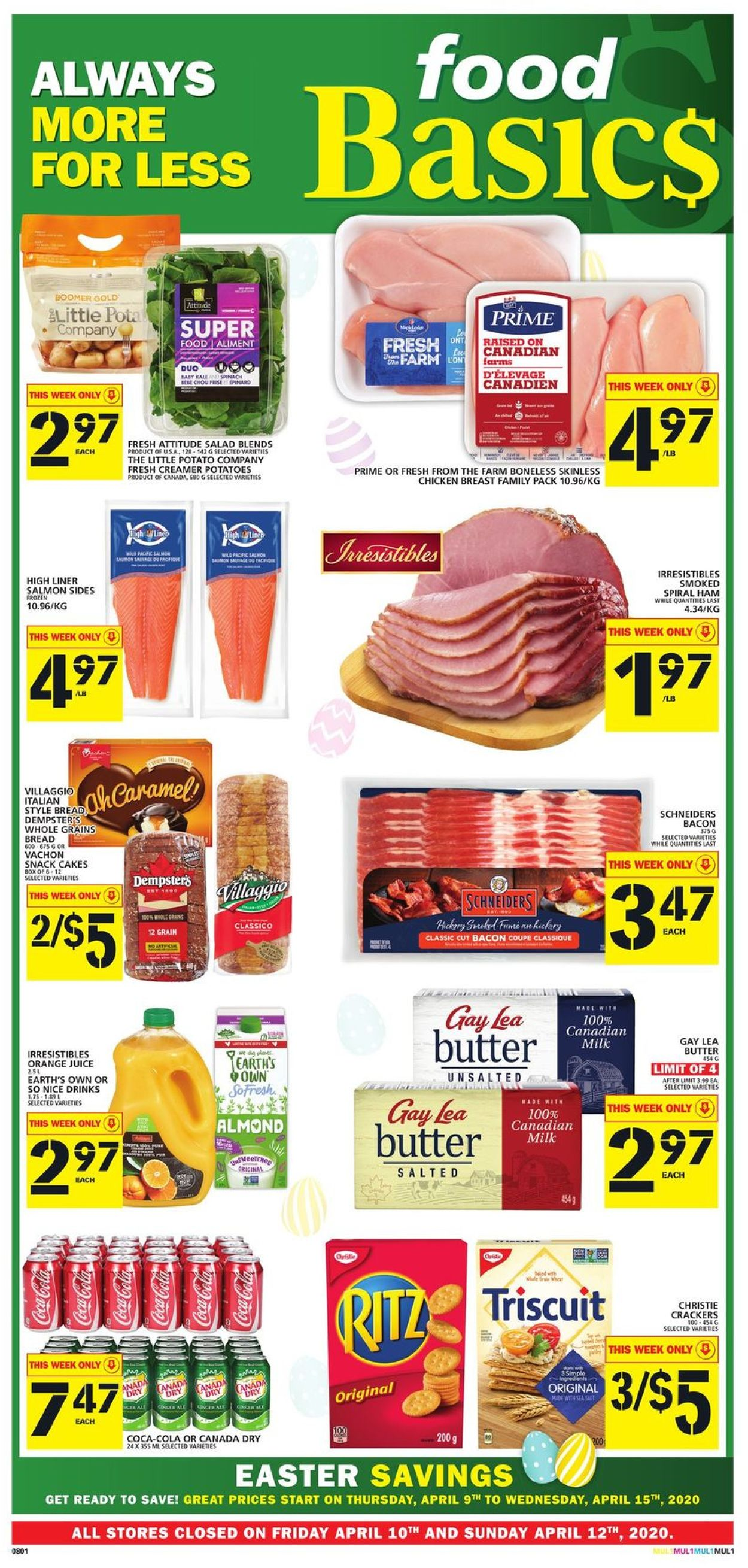 Food Basics Flyer - 04/09-04/15/2020