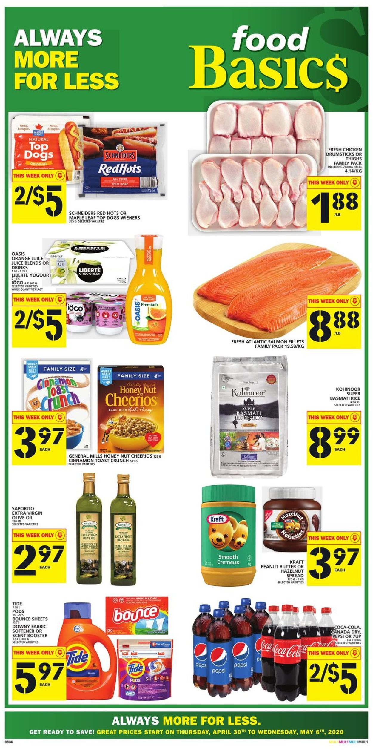 Food Basics Flyer - 04/30-05/06/2020