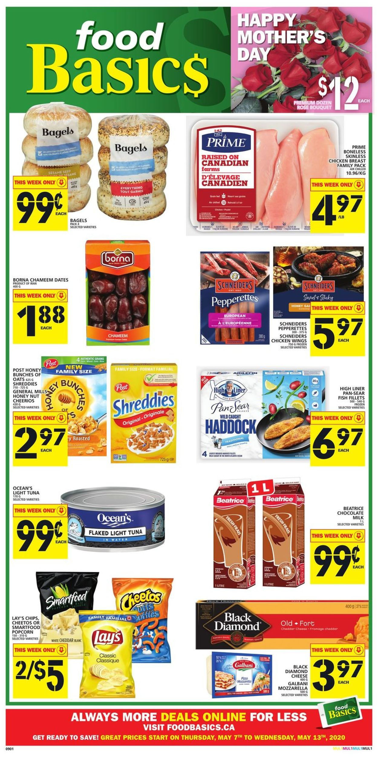 Food Basics Flyer - 05/07-05/13/2020