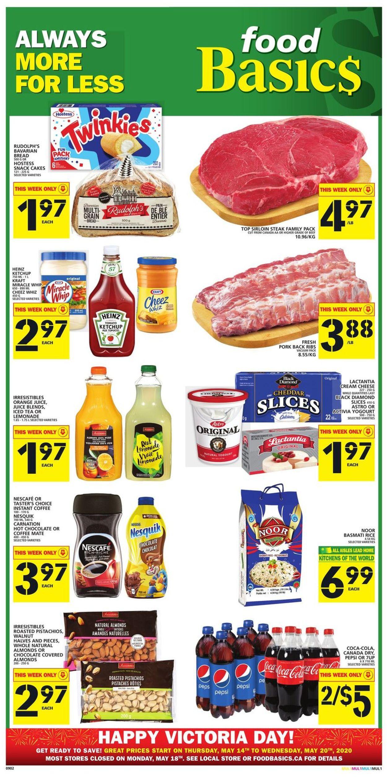 Food Basics Flyer - 05/14-05/20/2020