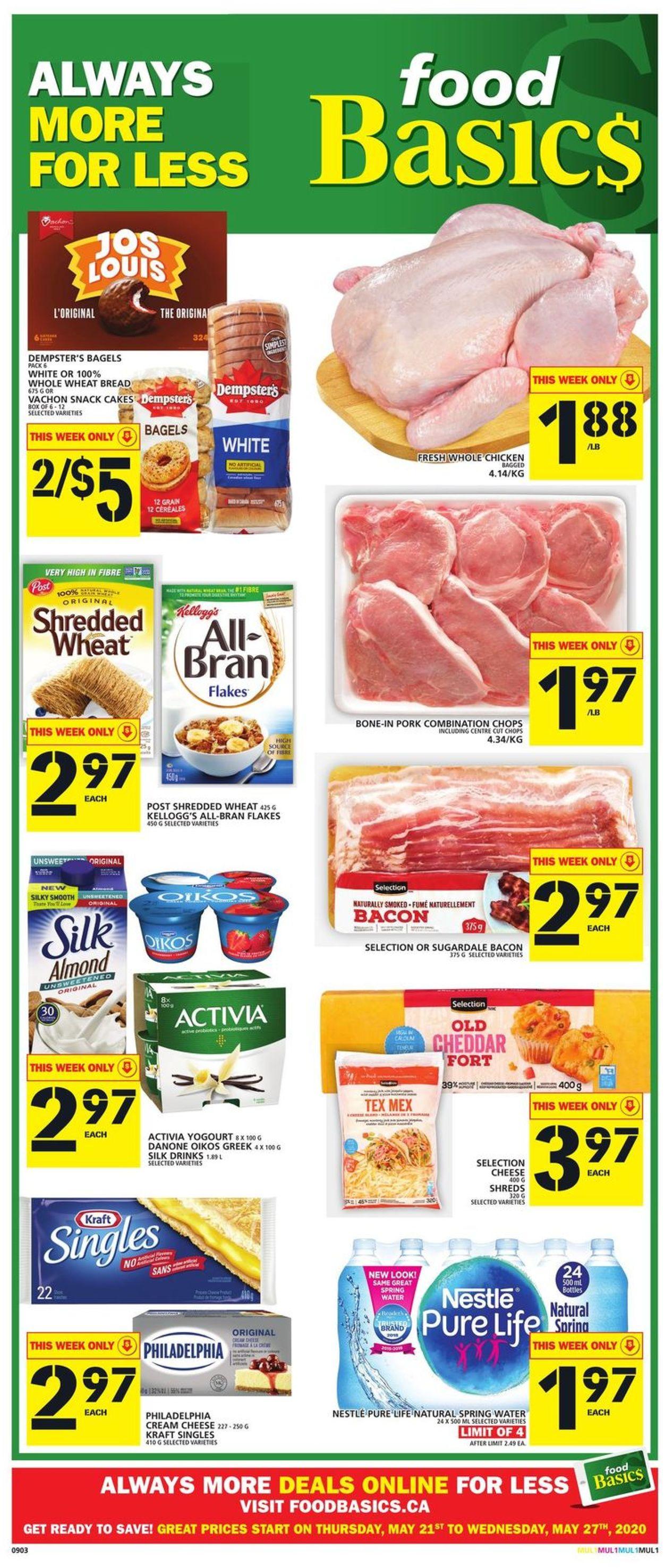 Food Basics Flyer - 05/21-05/27/2020