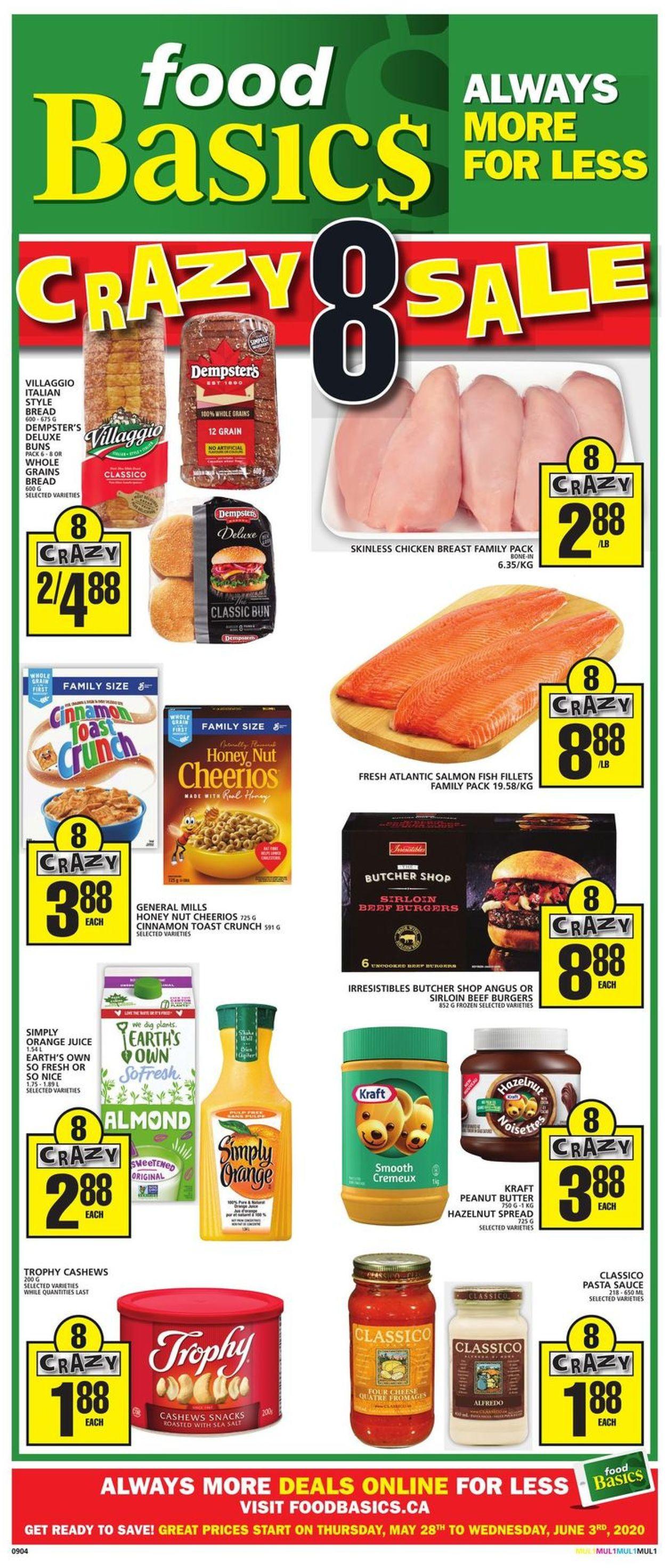Food Basics Flyer - 05/28-06/03/2020