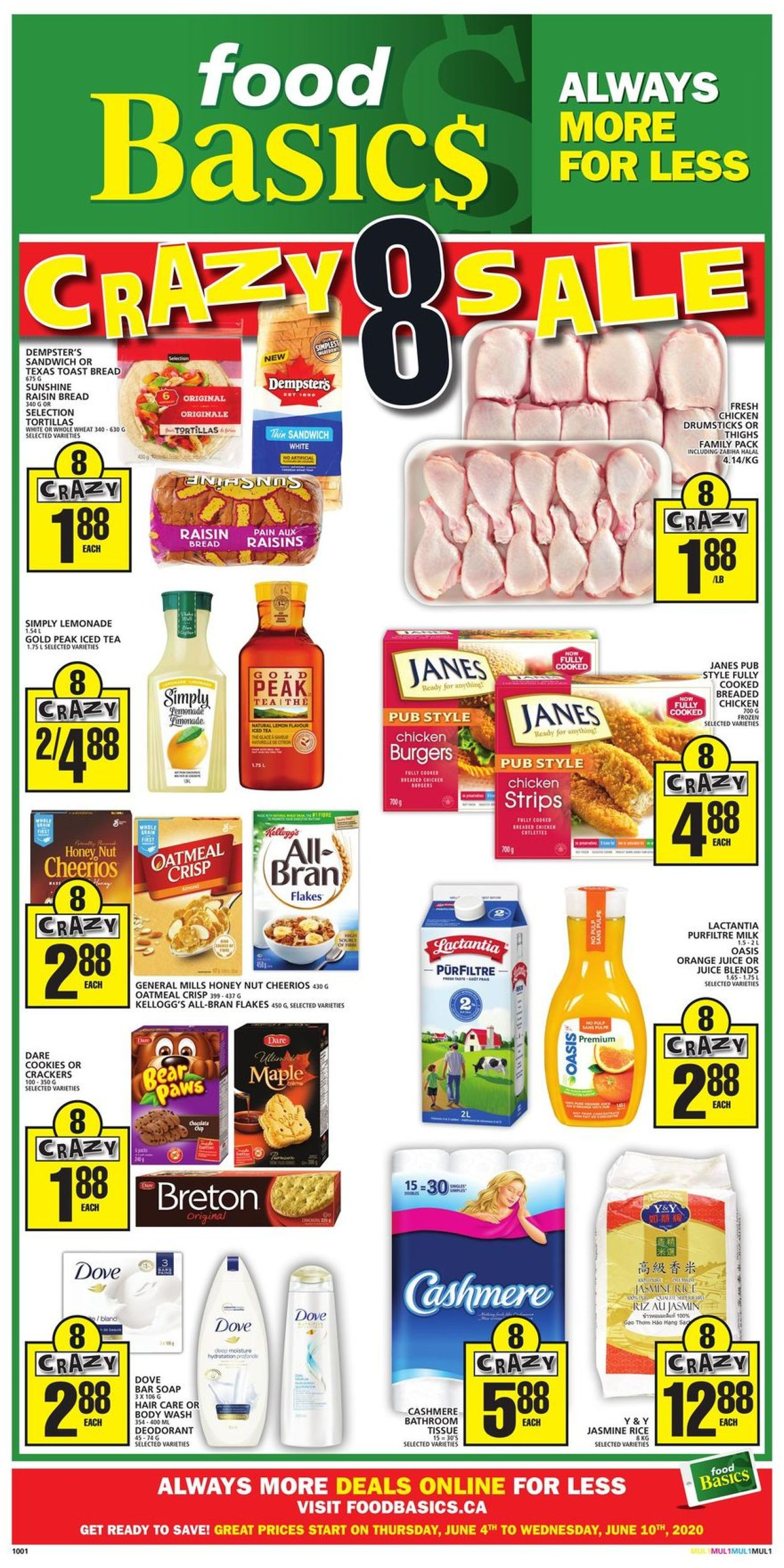 Food Basics Flyer - 06/04-06/10/2020