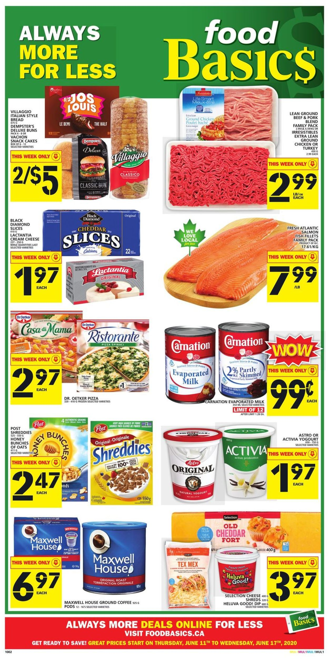 Food Basics Flyer - 06/11-06/17/2020