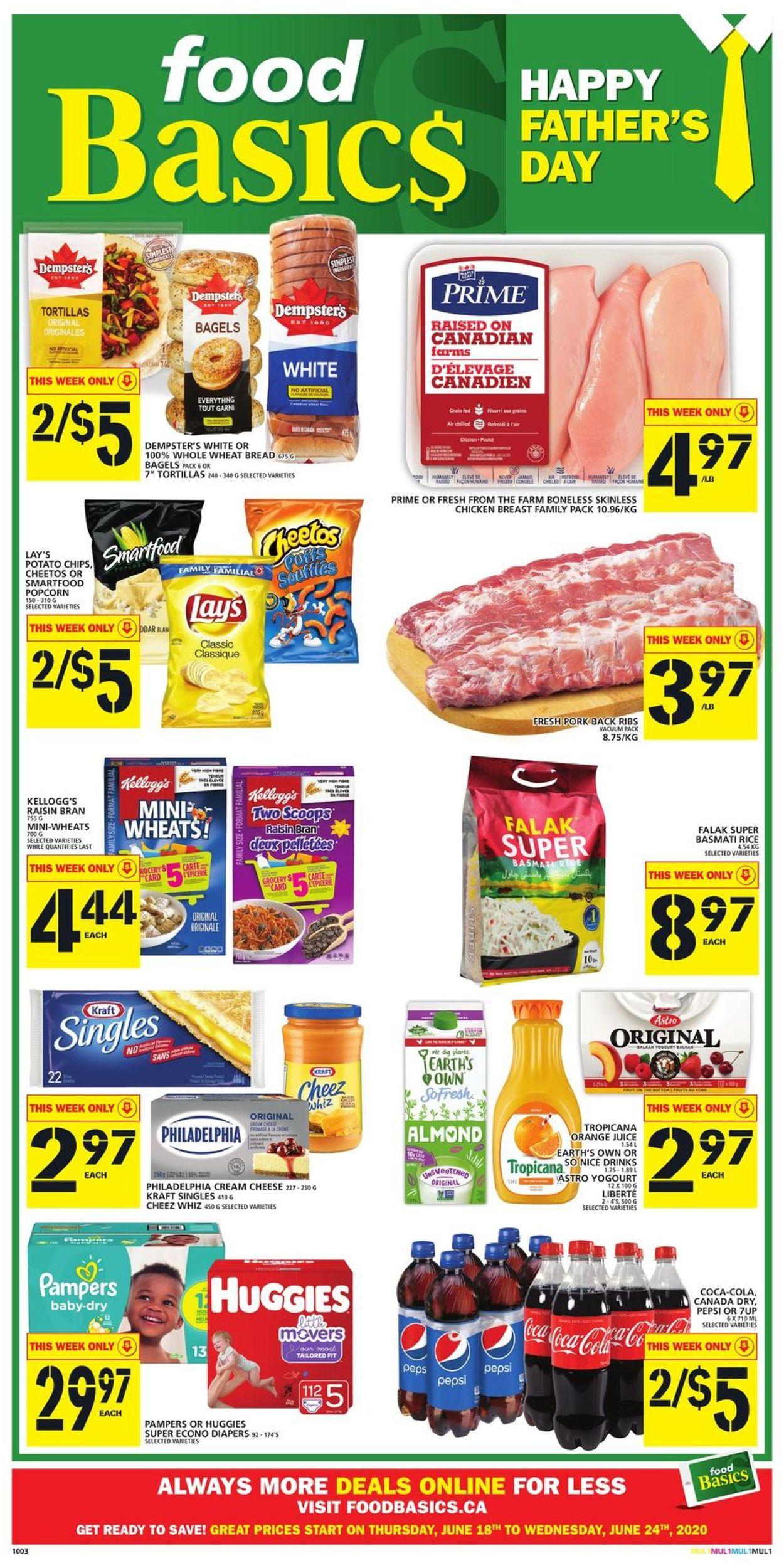 Food Basics Flyer - 06/18-06/24/2020