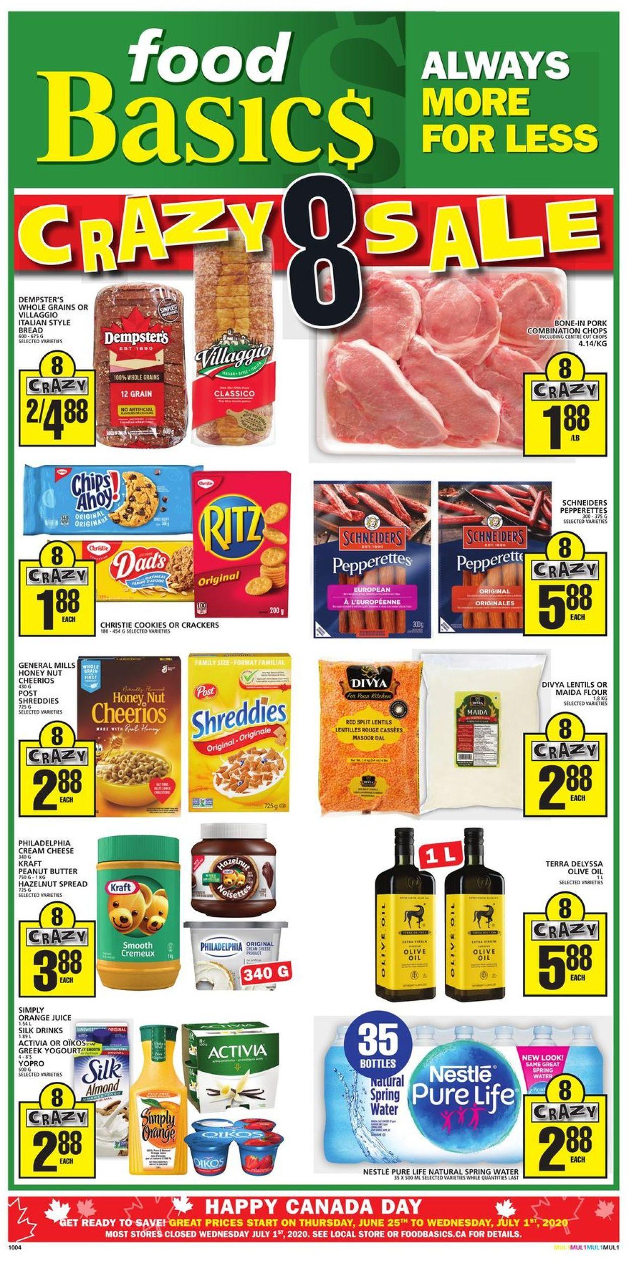 Food Basics Flyer - 06/25-07/01/2020